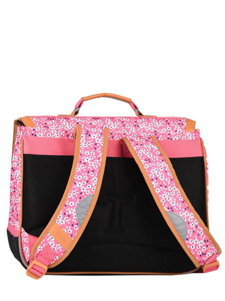 Satchel 2 Compartments Tann's Pink fantaisie fille 38263 other view 4