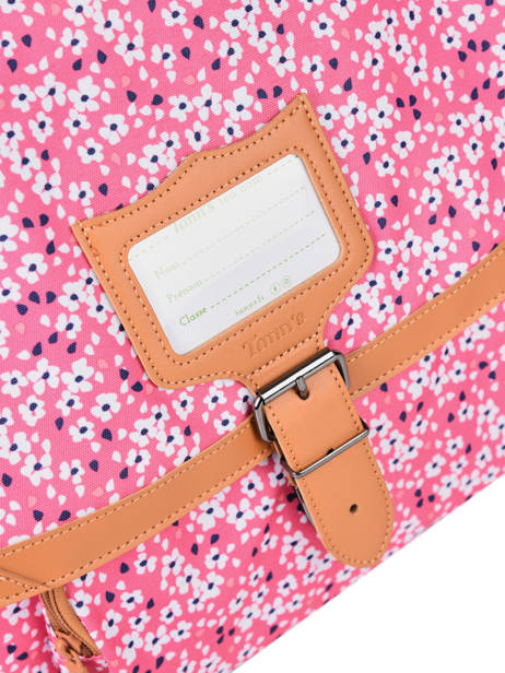 Satchel 2 Compartments Tann's Pink fantaisie fille 38263 other view 1