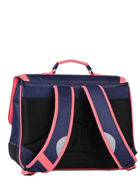 Cartable 2 Compartiments Tann's Bleu fantaisie fille 38152 vue secondaire 4