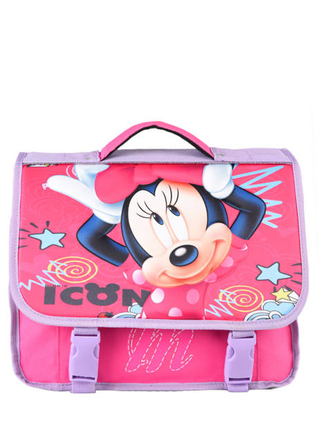 Cartable 1 Compartiment Minnie Rose dot MINEI06