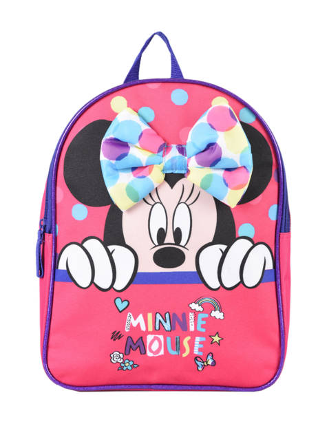 Backpack 1 Compartment Minnie Pink dot MINNIO3