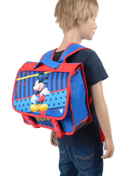Backpack Mini Mickey Blue stripe MICEI06 other view 1