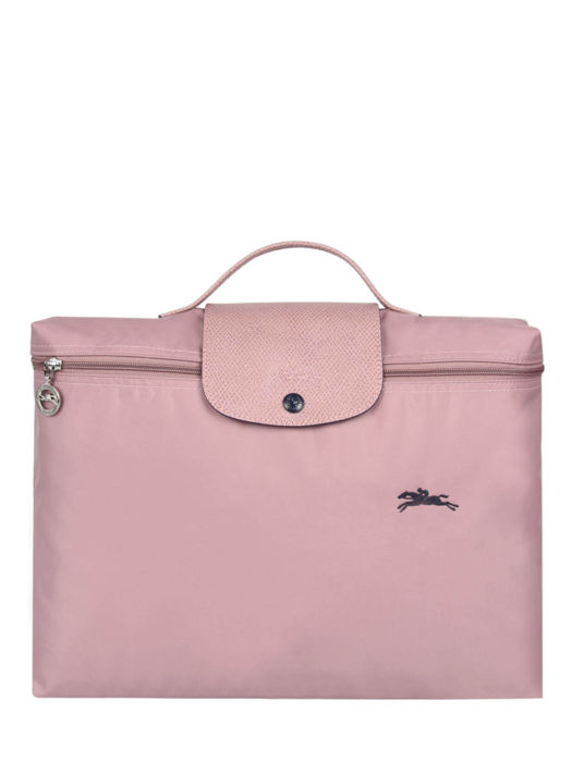 Longchamp Le pliage club Briefcase Pink