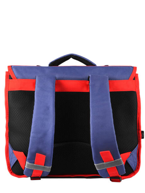 Satchel 2 Compartments Paris st germain Blue ici c'est paris 203P203S other view 3