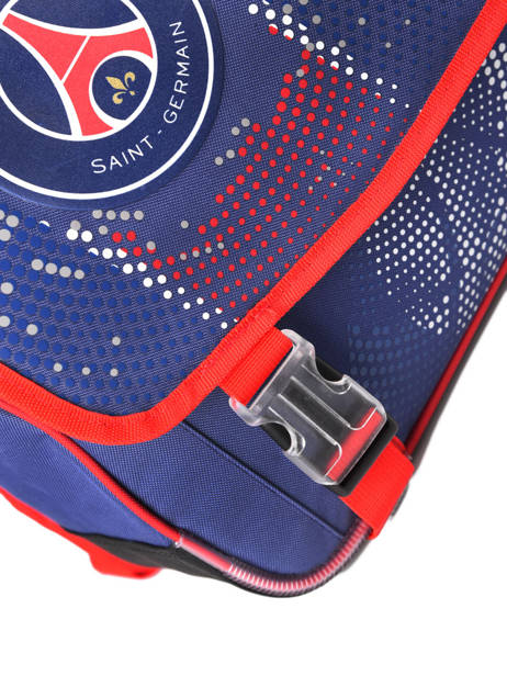 Satchel 2 Compartments Paris st germain Blue ici c'est paris 203P203S other view 1
