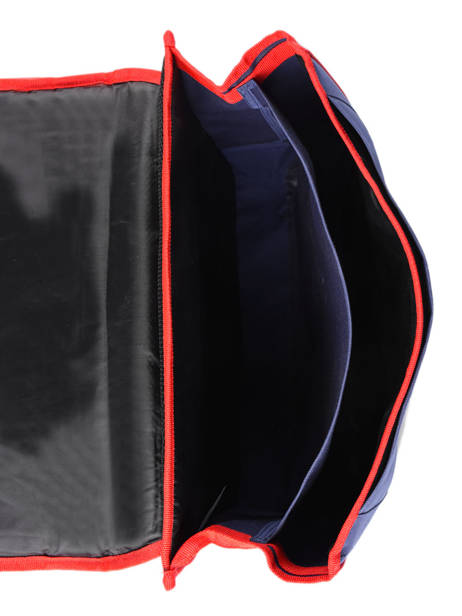 Satchel 2 Compartments Paris st germain Blue ici c'est paris 203P203S other view 4