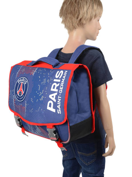 Satchel 2 Compartments Paris st germain Blue ici c'est paris 203P203S other view 2