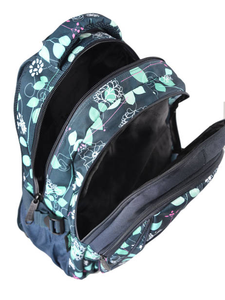 Sac A Dos 2 Compartiments Street Bleu street INFINITY vue secondaire 4