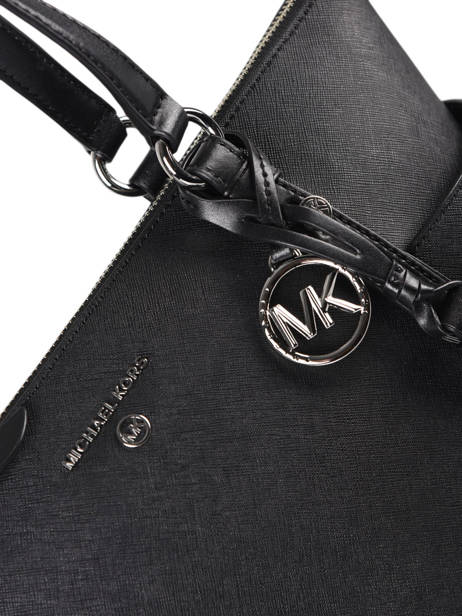Leather Nomad Shoulder Bag Michael kors Black nomad T0SNXT2L other view 1