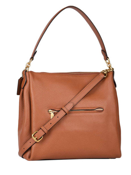 Leather Shay Shoulder Bag Coach Orange shay 93811 other view 3