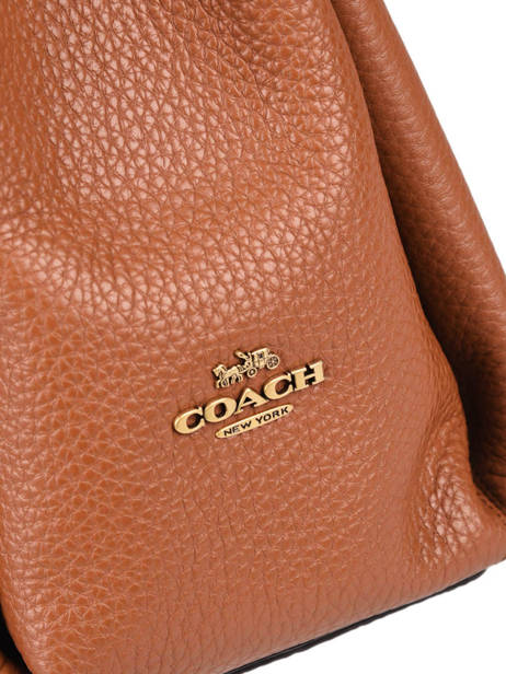 Leather Shay Shoulder Bag Coach Orange shay 93811 other view 1