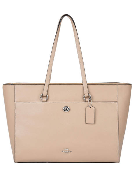 Leather Folio Tote Bag Coach Pink folio tote 78246