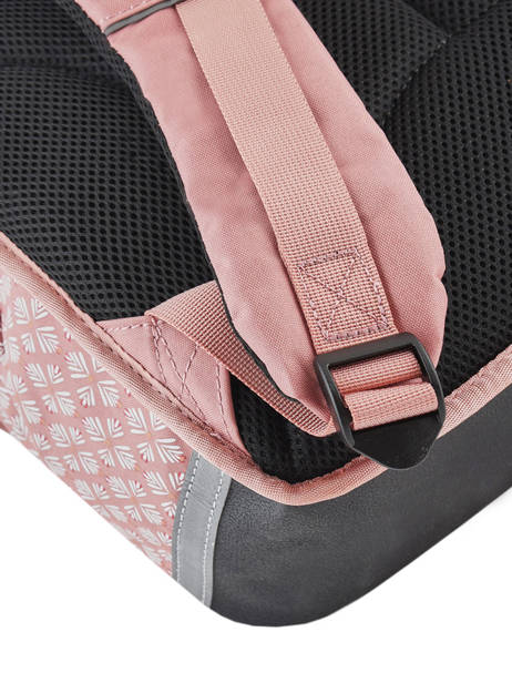 Cartable Fille 3 Compartiments Cameleon Rose vintage print girl VIG-CA41 vue secondaire 2