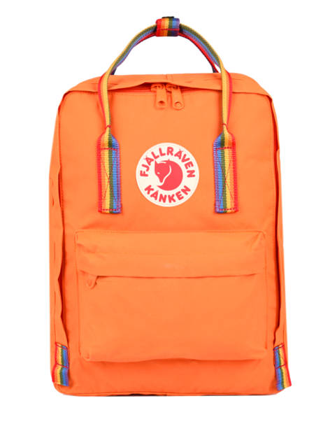 Sac à Dos 1 Compartiment Fjallraven Orange kanken 23620