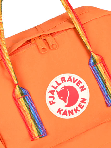 Sac à Dos 1 Compartiment Fjallraven Orange kanken 23620 vue secondaire 1