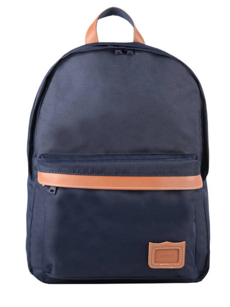 Backpack 2 Compartments Tann's Blue les unis 20-63111