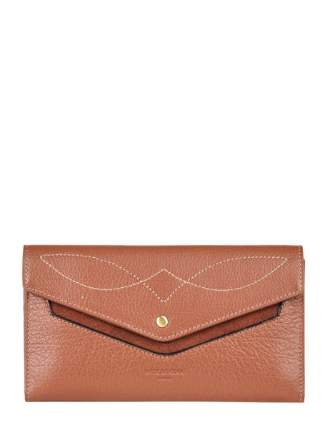 Portefeuille Cuir Hexagona Marron wild 137860