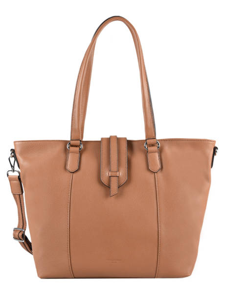 Leather Confort Tote Bag Hexagona Brown confort 466559
