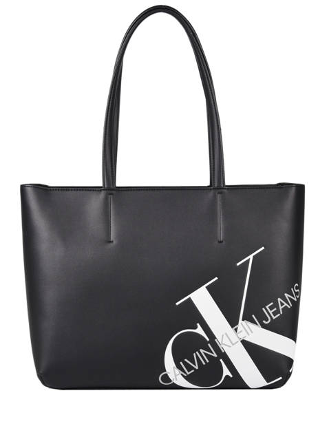Denim Tote Bag Calvin klein jeans Black denim K606859