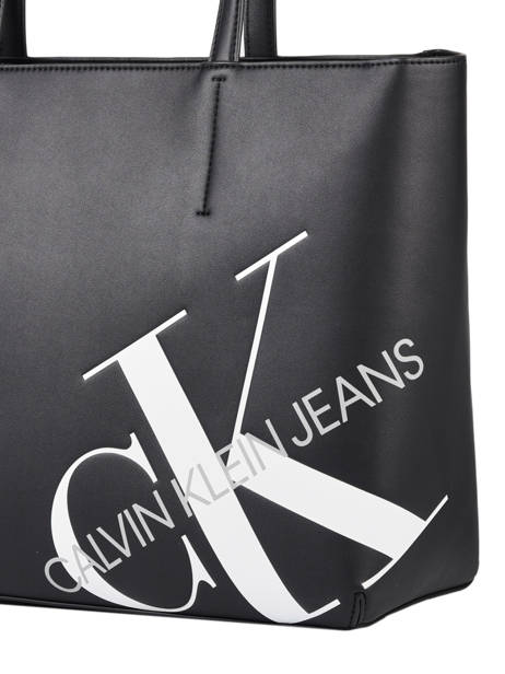 Denim Tote Bag Calvin klein jeans Black denim K606859 other view 1