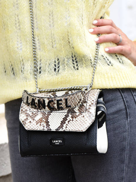 Top Handle S Ninon Python Lancel Multicolor ninon A09369 other view 3