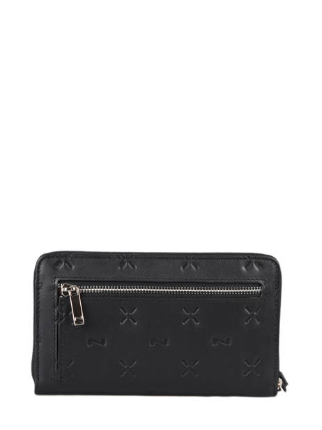 Portefeuille Ines Cuir Nathan baume Noir ines N670388 vue secondaire 2