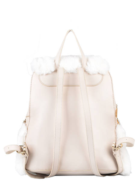 Cool Backpack With Imitation Fur Liu jo Beige cool AF0139 other view 3