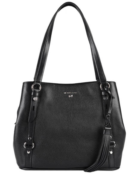 Shopper Carrie Leather Michael kors Black carrie F0S1AE3L