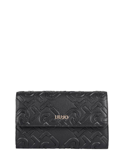 Continental Wallet Liu jo Black manhattan NF0147