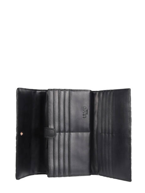 Continental Wallet Liu jo Black manhattan NF0147 other view 1
