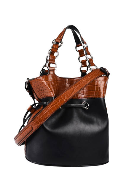 Medium Leather Premier Flirt Croco Bucket Bag Lancel premier flirt A10926 other view 7