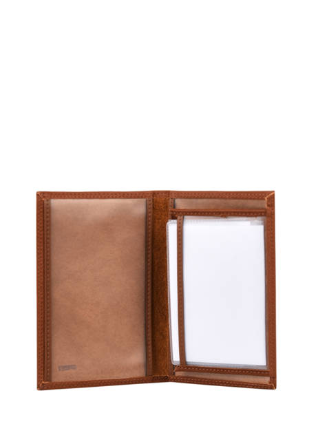 Porte Papiers Leather Miniprix Brown louisa F3935 other view 1