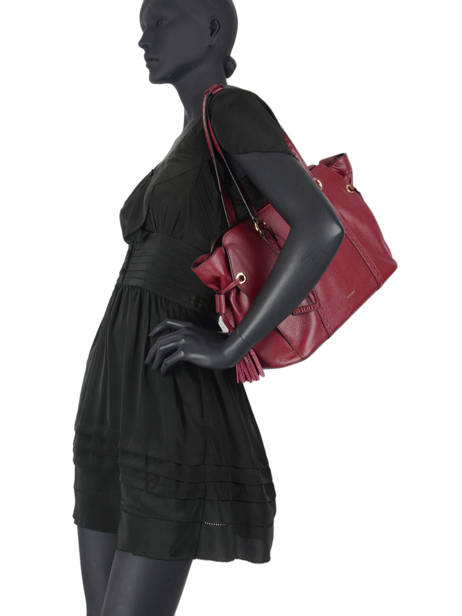 Sac Shopping Tradition Cuir Etrier Rouge tradition EHER25 vue secondaire 2