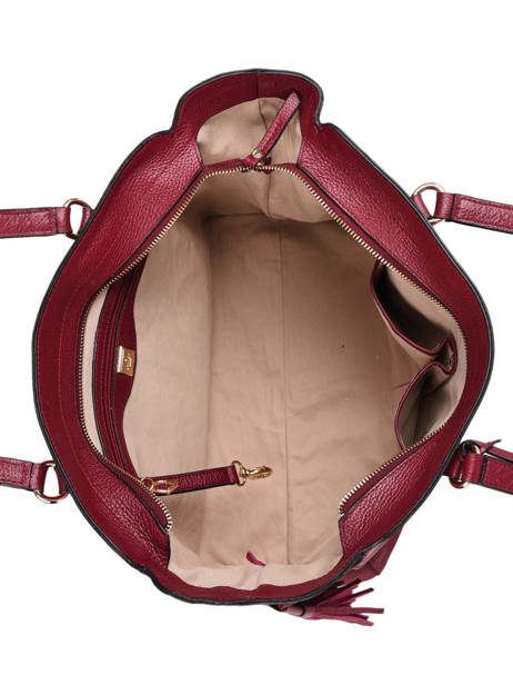 Sac Shopping Tradition Cuir Etrier Rouge tradition EHER25 vue secondaire 4
