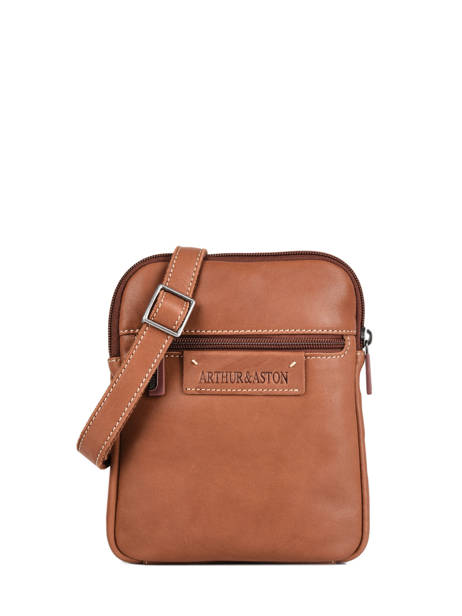 Leather Arthur Crossbody Bag Arthur et aston Brown arthur 8