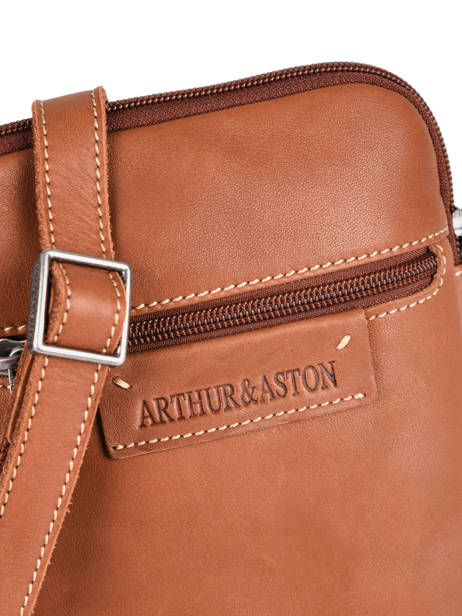 Leather Arthur Crossbody Bag Arthur et aston Brown arthur 8 other view 1