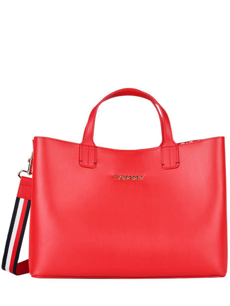 Cabas Iconic Tommy Tommy hilfiger Rouge iconic tommy AW08512
