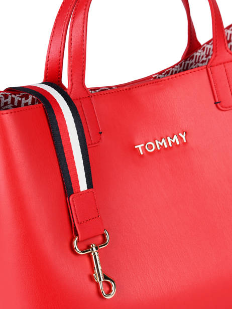 Cabas Iconic Tommy Tommy hilfiger Rouge iconic tommy AW08512 vue secondaire 1