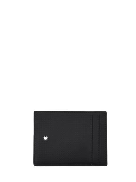 Leather Extreme 2.0 Card Holder Montblanc Black extreme 127777