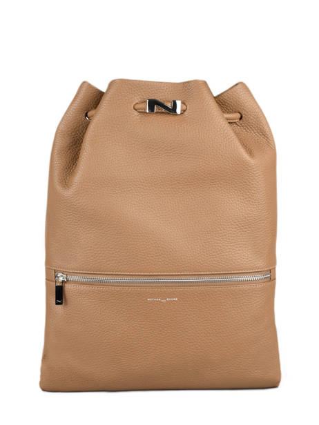Leather Oslo Backpack Nathan baume Brown nathan 37