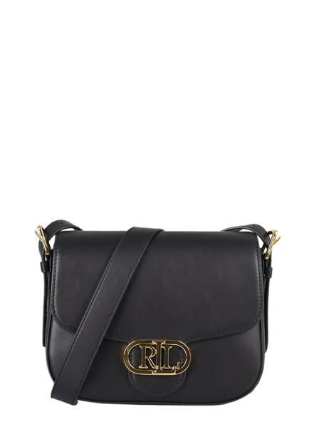 Shoulder Bag Addie 24 Leather Lauren ralph lauren Black addie 24 31818731
