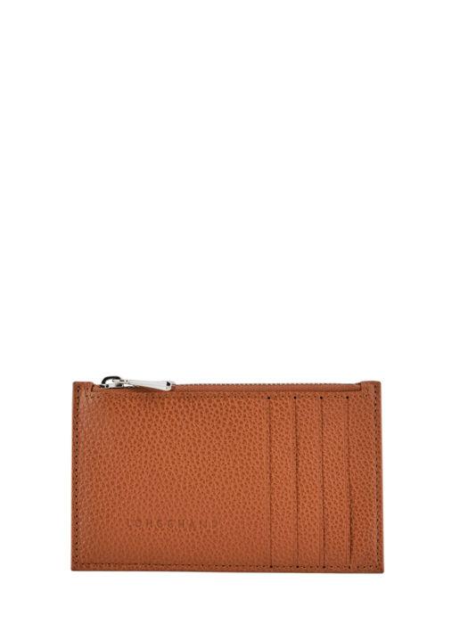 Longchamp Le foulonné Coin purse Brown