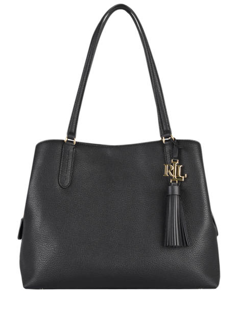 Shoulder Bag Quinn Leather Lauren ralph lauren Black quinn 31818738