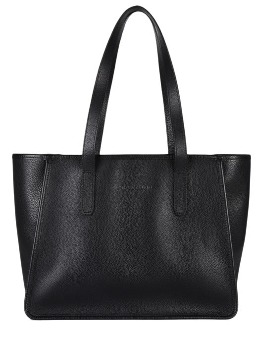 Longchamp Le foulonné Hobo bag Black