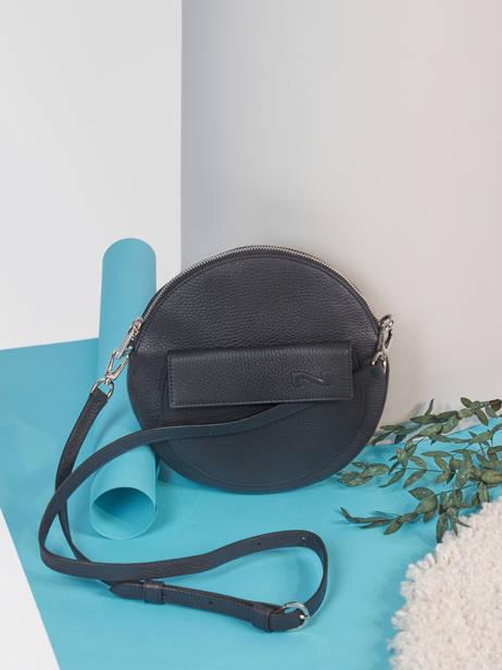 Leather Dorine Crossbody Bag Nathan baume Blue nathan 32PO