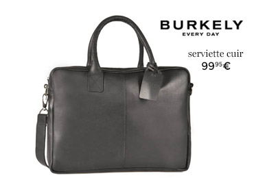 porte documents cuir burkely