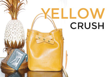 trend yellow bags