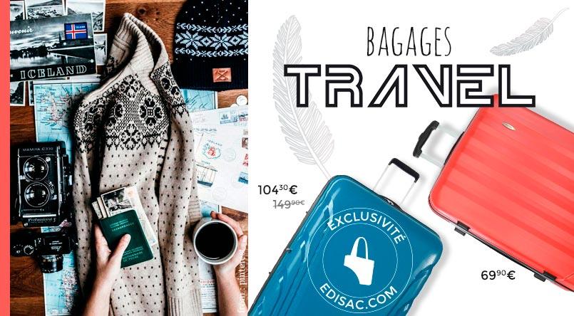 valises travel pas cher