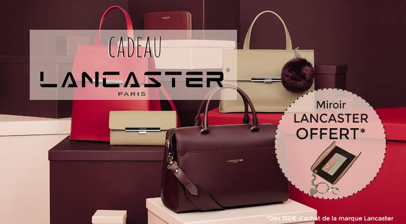 sac lancaster miroir offert