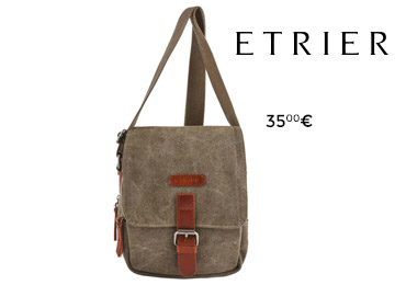 best loved e355a 478ef sac homme etrier